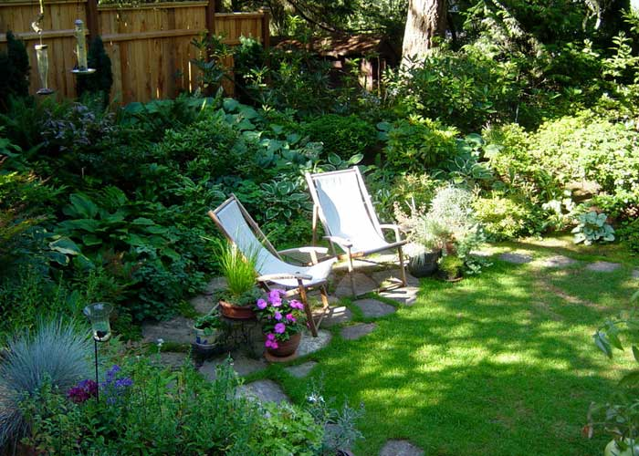 50 bah e dekorasyon nerisi ddekor dekorasyon fikirleri Beautiful and shady home garden design ideas